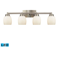 Northport LED 28 inch Satin Nickel Bath Bar Wall Light in 4