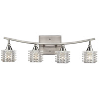 ELK Lighting Matrix 4 Light Bath Bar in Satin Nickel 17132/4