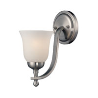 ELK Lighting Mayfield 1 Light Wall Sconce in Brushed Nickel 17140/1