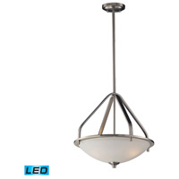 ELK 17143/3-LED Mayfield LED 17 inch Brushed Nickel Pendant Ceiling Light