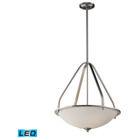 ELK 17144/3-LED Mayfield LED 21 inch Brushed Nickel Pendant Ceiling Light