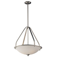 ELK 17144/3 Mayfield 3 Light 21 inch Brushed Nickel Pendant Ceiling Light