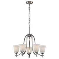 Mayfield 5 Light 24 inch Brushed Nickel Chandelier Ceiling Light