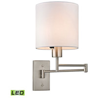 ELK Lighting Carson LED Wall Sconce in Brushed Nickel 17150/1-LED