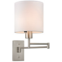 ELK Lighting Carson 1 Light Wall Sconce in Brushed Nickel 17150/1