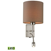 ELK Lighting Regina LED Wall Sconce in Brushed Nickel 17151/2-LED
