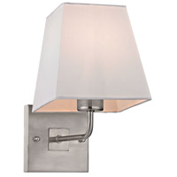 Beverly 1 Light 6 inch Brushed Nickel Wall Sconce Wall Light in Standard