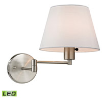 Avenal LED 9 inch Brushed Nickel Wall Sconce Wall Light