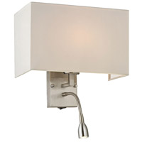 ELK Lighting Dixon 2 Light Wall Sconce in Brushed Nickel 17154/2