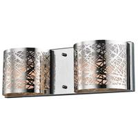ELK 17181/2 Ventor 2 Light 16 inch Polished Chrome Vanity Wall Light