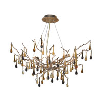 ELK Lighting Bijou 6 Light Chandelier in Silver Leaf 1721/6