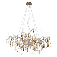 ELK Lighting Bijou 8 Light Chandelier in Silver Leaf 1722/8