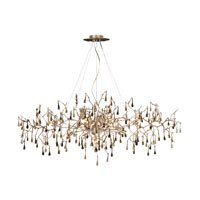 ELK Lighting Bijou 12 Light Chandelier in Silver Leaf 1723/12