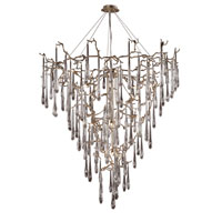 ELK Lighting Veubronce 19 Light Chandelier in Silver Leaf 1745/19