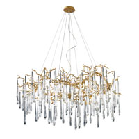 ELK Lighting Veubronce 15 Light Chandelier in Gold Leaf 1747/15