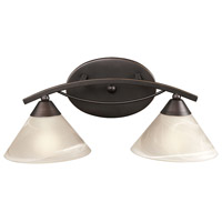 Elysburg 2 Light 18 inch Oil Rubbed Bronze Vanity Wall Light