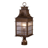 ELK Lighting Colony Heights 1 Light Outdoor Post Light in Coffee Bronze 18004/1
