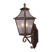 ELK Lighting Washington Avenue 3 Light Outdoor Sconce in Coffee Bronze 18005/3