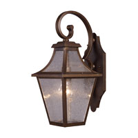 ELK Lighting Washington Avenue 1 Light Outdoor Sconce in Coffee Bronze 18007/1