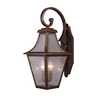 ELK Lighting Washington Avenue 3 Light Outdoor Sconce in Coffee Bronze 18008/3 photo thumbnail