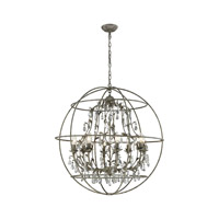 Elk Lighting Bridget 8 Light Chandelier in Marble Gray 18215/8