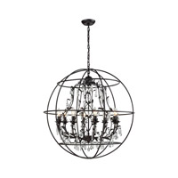 Elk Lighting Bridget 8 Light Chandelier in Oil Rubbed Bronze 18225/8