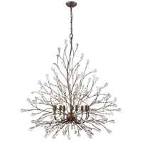 Crislett 9 Light 40 inch Sunglow Bronze Chandelier Ceiling Light
