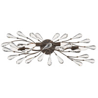 ELK 18252/4 Crislett 4 Light 28 inch Sunglow Bronze Vanity Light Wall Light