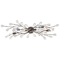 Crislett 6 Light 39 inch Sunglow Bronze Vanity Light Wall Light