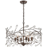 Crislett 6 Light 23 inch Sunglow Bronze Pendant Ceiling Light