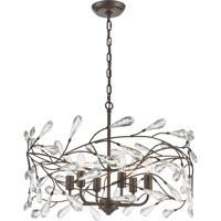 ELK 18259/6 Crislett 6 Light 23 inch Sunglow Bronze Pendant Ceiling Light