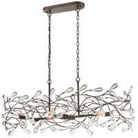 Crislett 6 Light 43 inch Sunglow Bronze Island Light Ceiling Light