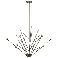 Ocotillo 12 Light 44 inch Oil Rubbed Bronze Chandelier Ceiling Light