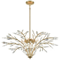 ELK 18296/9 Flora Grace 38 inch Champagne Gold Chandelier Ceiling Light