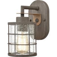 ELK 18363/1 Gilbert 8 inch Rusted Coffee/Light Wood Vanity Light Wall Light
