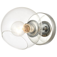 ELK 18373/1 Claro 9 inch Polished Chrome Vanity Light Wall Light