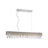 Elk Lighting Crystal Vallance 7 Light Chandelier in Polished Chrome 18506/7