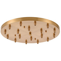 ELK 18R-SB Pendant Options Satin Brass Pan, Round