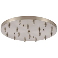 ELK 18R-SN Pendant Options Satin Nickel Canopy Round