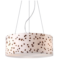 ELK Lighting Modern Organics 3 Light Pendant in Polished Chrome 19022/3