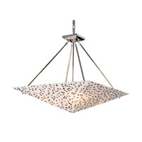 Elk Lighting Modern Organics 4 Light Pendant In Polished Chrome 19024/4