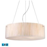 ELK 19033/5-LED Modern Organics LED 24 inch Polished Chrome Pendant Ceiling Light