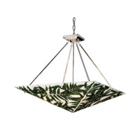 Elk Lighting Modern Organics 4 Light Pendant In Polished Chrome 19054/4
