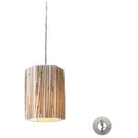 ELK Lighting Modern Organics 1 Light Pendant in Polished Chrome 19061/1-LA