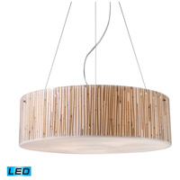 ELK 19063/5-LED Modern Organics LED 24 inch Polished Chrome Pendant Ceiling Light