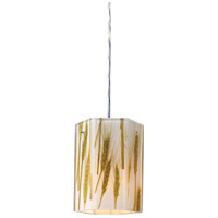 MODERN ORGANICS 1 Light 6 inch Polished Chrome Pendant Ceiling Light