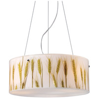 ELK Lighting Modern Organics 3 Light Pendant in Polished Chrome 19072/3