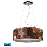 ELK Lighting Trevett 3 Light Pendant in Polished Chrome 19095/3-LED