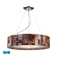 ELK Lighting Trevett 5 Light Pendant in Polished Chrome 19096/5-LED