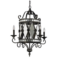 Mariana 4 Light 26 inch Blackened Silver Chandelier Ceiling Light